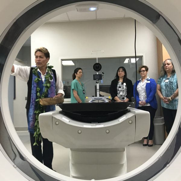 Blessing performed on new MRI