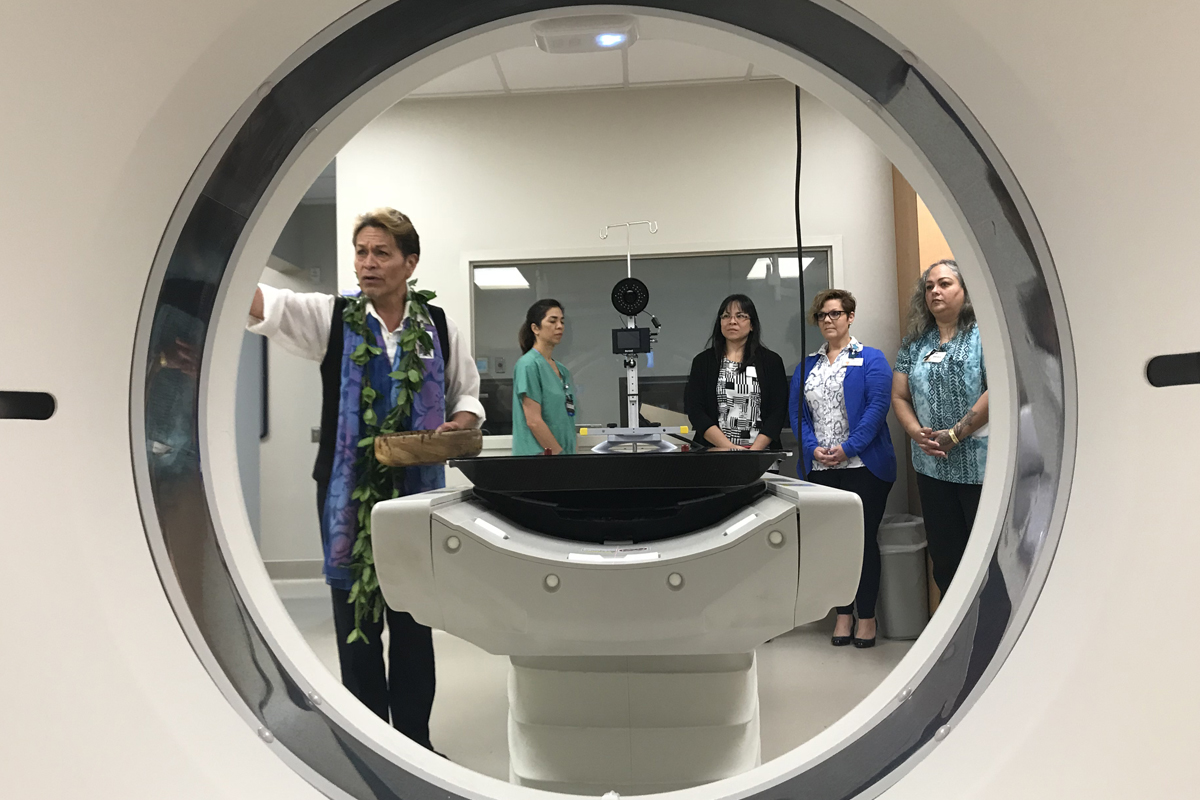 Blessing performed on new MRI