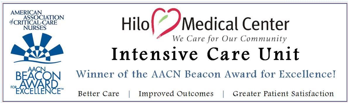 Intensive Care Unit banner