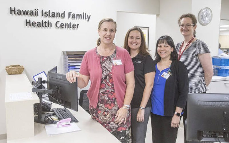 Hawaii Island Family Health Center staff