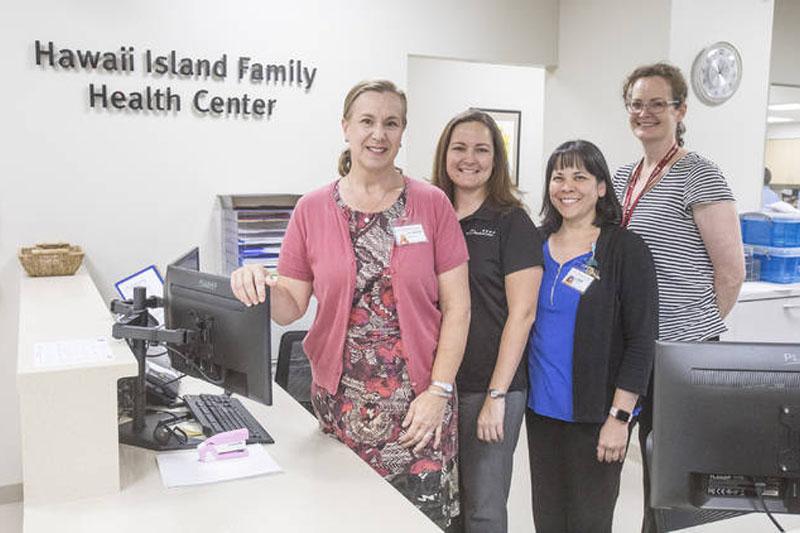 Hawaii Island Family Health Center staff